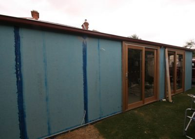 Blue board preparation for commercial painting job Willaston