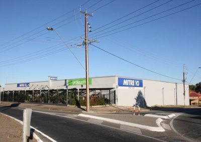 Commercial Painting exterior of building at Gawler