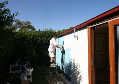 Preparation for texture coating applying skin coat in country south australia